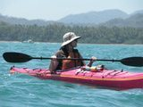 Kayaking with Seascape Kayak Tours at the Curu Wildlife Refuge near Tambor Tropical, located on Costa Rica's Nicoya Peninsula.